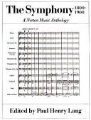 The Symphony  1800 1900