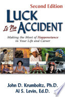 Luck is No Accident Than All The Careful Planning We Do A