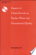 Impacts of Urban Growth on Surface Water and Groundwater Quality