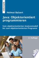 Java: objektorientiert programmieren