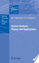 System Analysis  Theory and Applications