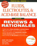 Fluids  Electrolytes  and Acid base Balance