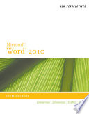 New Perspectives on Microsoft Word 2010  Introductory