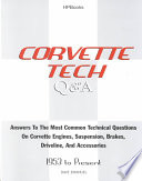 Corvette Tech Q and A
