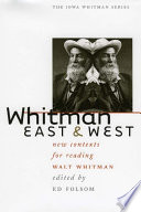 Whitman East And West book