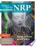 NRP Lycée - Duras, écrivain du XXe siècle - Novembre 2014 (Format PDF)