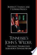 Tennessee s John Wilder