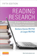 Reading Research, Fifth Canadian Edition - E-Book