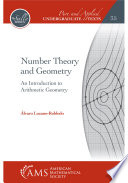 Number Theory and Geometry: An Introduction to Arithmetic Geometry Pdf/ePub eBook