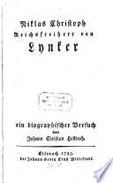 Niklas Christoph Reichsfreiherr von Lynker
