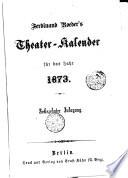 Ferdinand Roeder's Theater-Kalender