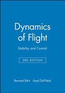 Dynamics of Flight