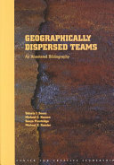 Geographically Dispersed Teams