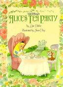 Alice s Tea Party Book PDF