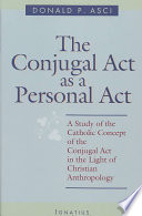 The Conjugal Act as Personal Act