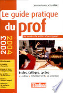 Le guide pratique du prof
