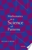 Mathematics as a Science of Patterns