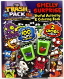 The Trash Pack Smelly Surprise Awful Activity   Coloring Book