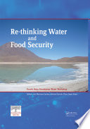 Re thinking Water and Food Security