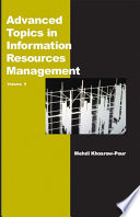 Advanced Topics In Information Resources Management Volume 5 book