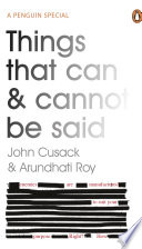 Ebook Things That Can and Cannot Be Said Epub John Cusack,Arundhati Roy Apps Read Mobile