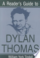 A Reader S Guide To Dylan Thomas