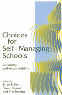 Choices for Self Managing Schools