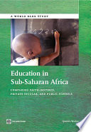 Education in Sub Saharan Africa