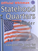 Official Whitman Statehood Quarters Folder