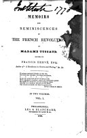 Memoirs and Reminiscences of the French Revolution