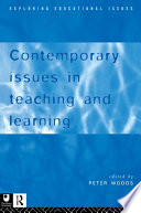 Contemporary Issues in Teaching and Learning