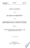 board of regents of the smithsonian institution