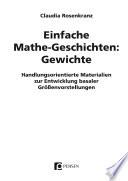 Einfache Mathe-Geschichten: Gewichte