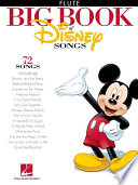 The Big Book of Disney Songs  Songbook