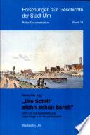 """""""Die Schiff' stehn schon bereit"""""""