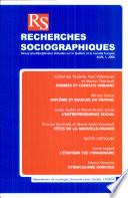 Recherches Sociographiques