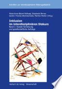 Inklusion im interdisziplinären Diskurs