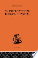 An International Economic System