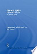 Teaching English Literature 16   19