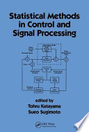 Statistical Methods in Control   Signal Processing