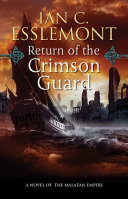 Return Of The Crimson Guard : not have come at a worse time...