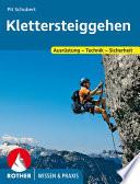 Klettersteiggehen  Wissen   Praxis