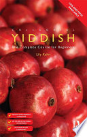 Colloquial Yiddish  eBook And MP3 Pack