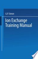 Ion Exchange Training Manual