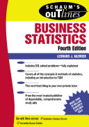 Schaum s Outline of Business Statistics