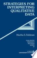 Strategies for Interpreting Qualitative Data
