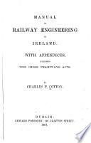 Manual Of Railway Engineering In Ireland
