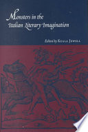 Monsters in the Italian Literary Imagination Of As Human Creatures Such As