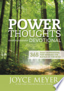 Book Power Thoughts Devotional