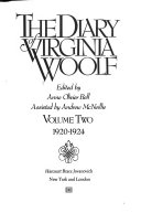 The Diary of Virginia Woolf  1920 1924